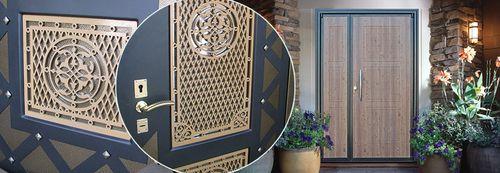 Двери от интекрон в интерьере