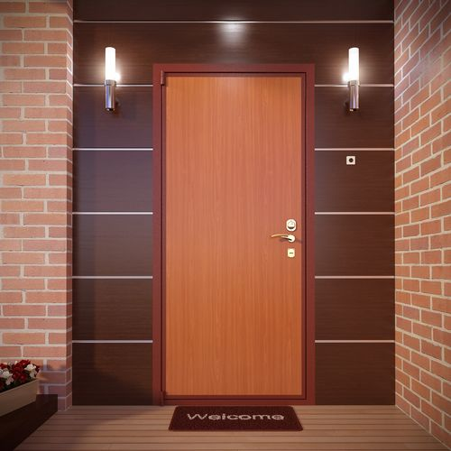 Стальная дверь Неман в интерьере