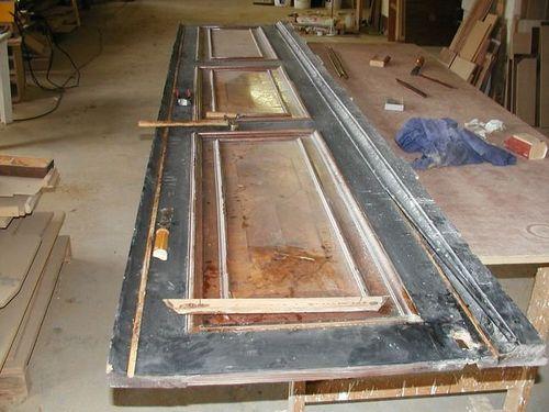 Реставрация межкомнатных дверей: идеи ремонта