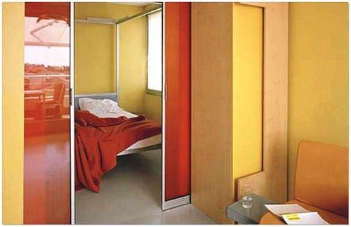 Дизайн двери в спальню