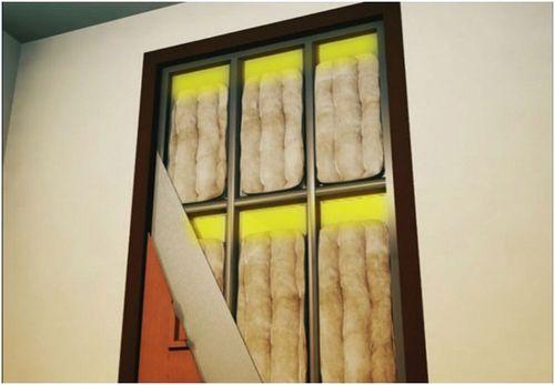 установка металлических дверей с шумоизоляцией