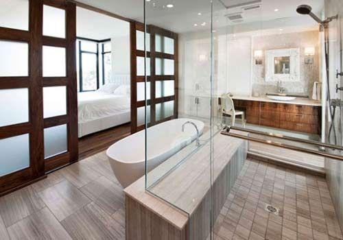 Как установить дверь в ванной комнате своими