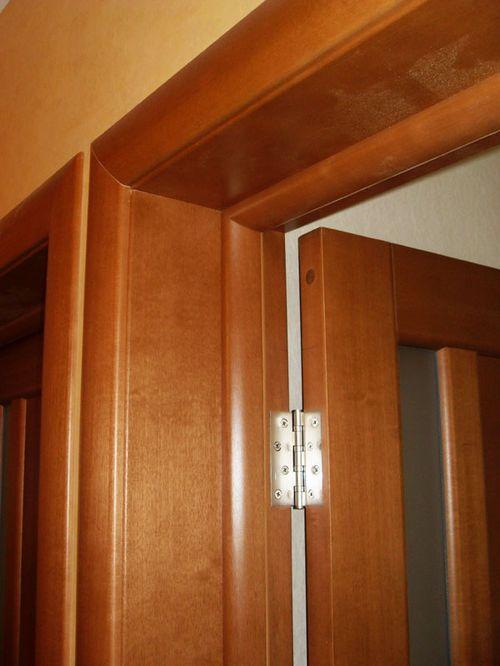 Как установить доборы на двери?