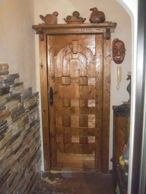 Деревянные двери своими руками под старину