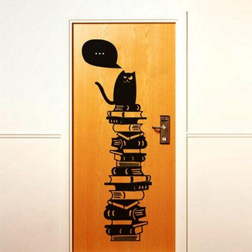 Выбираем наклейки на дверь