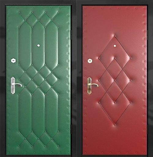Как обшить дверь?