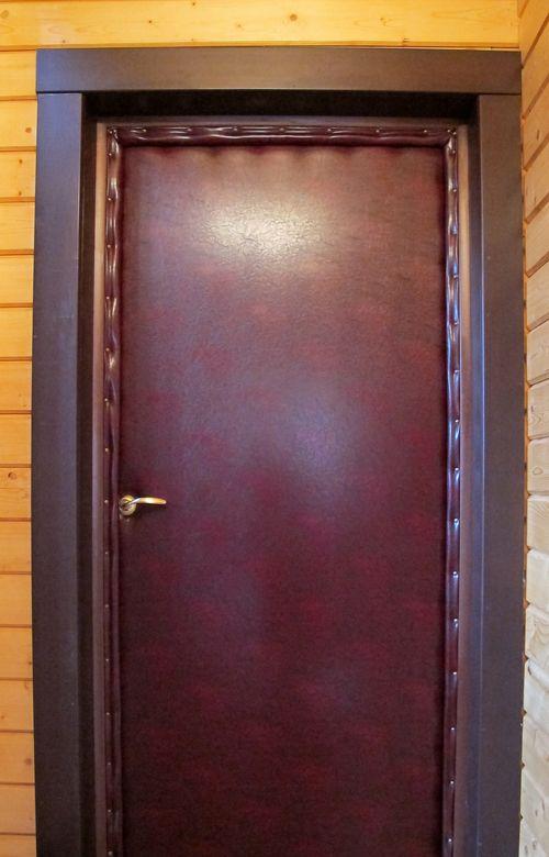 Обивка Двери Дермантином Видео