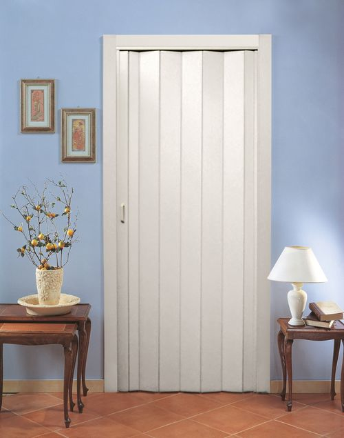 Раздвижные двери гармошка: фото в интерьерах