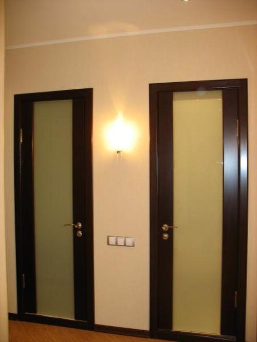 фото двери в ванну и туалет
