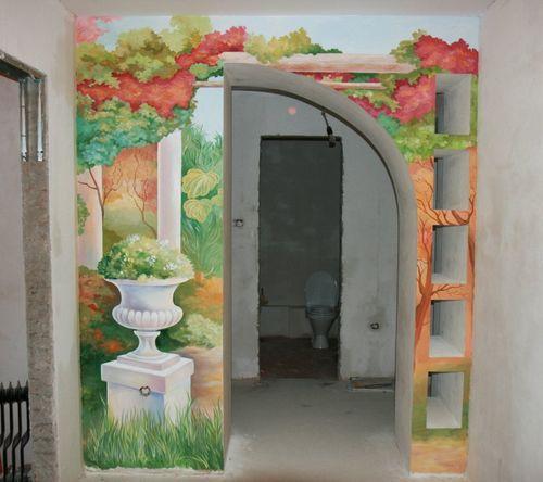 Украшаем интерьер — арка в коридоре
