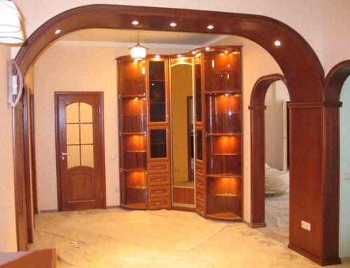 Какие бывают арки в дверной проем в квартире