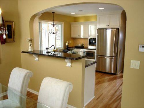 арка на кухню фото