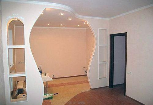 Красивая арка в квартире