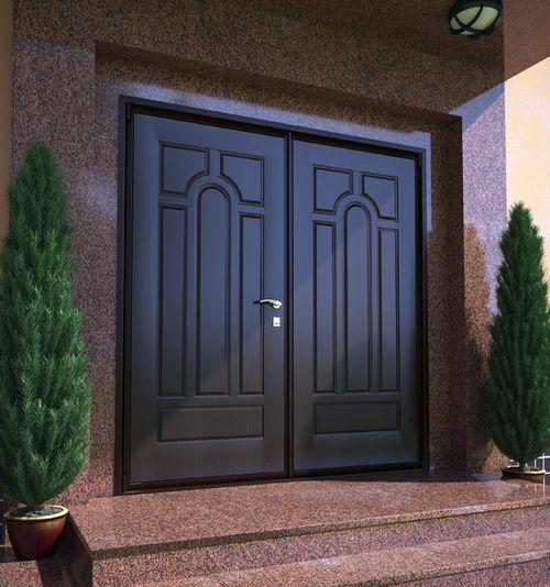 Как выбрать металлические теплые двери