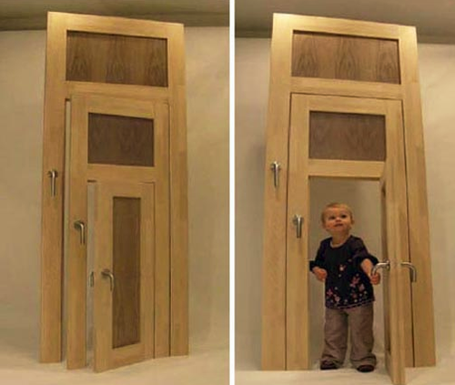 Выбираем нестандартную дверь