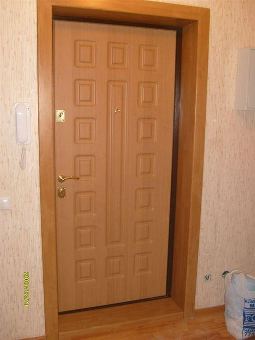 Входная дверь изнутри