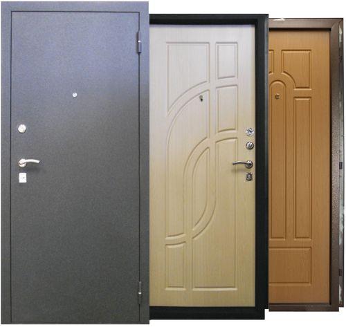 Выбираем сейф двери