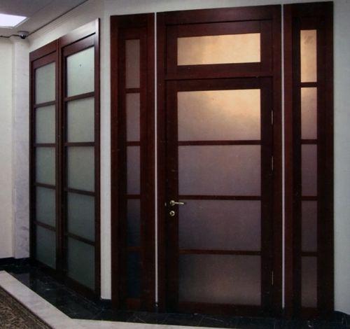 Одностворчатая распашная дверь