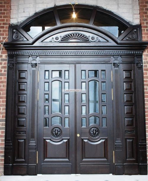 дверь большая входная элитная