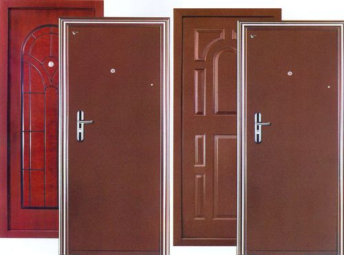 Какое бывает покрытие дверей: межкомнатных и металлических