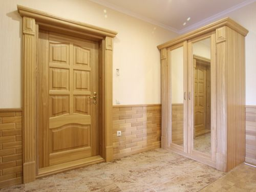 Белые двери из массива дуба: межкомнатные двери из дуба