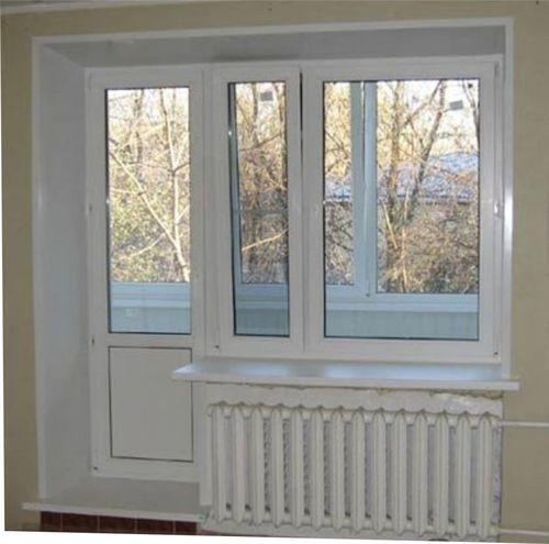 Все про балконные ПВХ-двери