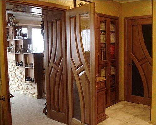 Дверь цвета Махагон