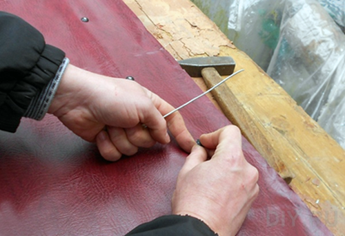 Как оббить входную деревянную дверь дермантином или МДФ