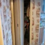 Дверь книжка облицованная декоративным пластиком