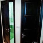 Деревянные  двери из березы