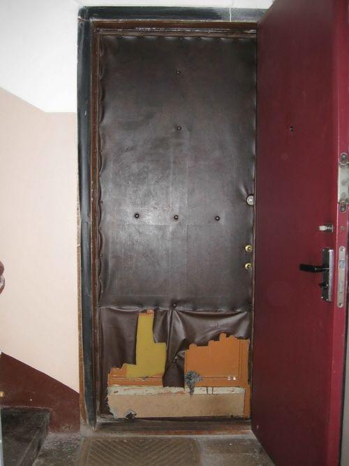Способы реставрации входной металлической двери