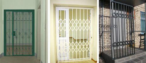 Какие бывают решетчатые двери: виды и особенности