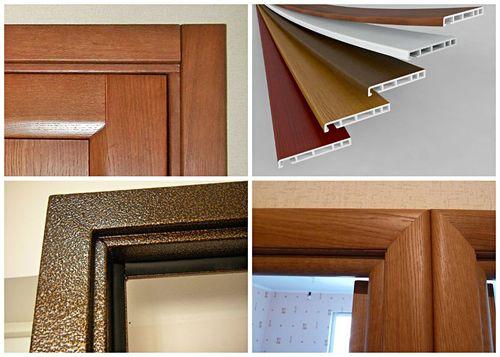 Как подобрать ширину наличника межкомнатной двери