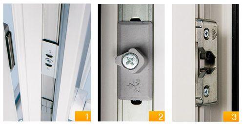 Правила установки защелки на дверь