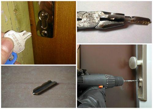 Что делать, если не открывается замок входной двери