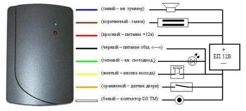 Схема электромагнитного замка дверь фото 467