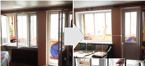 Виды и особенности крепления механизмов балконной двери