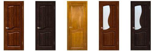 Модели и характеристики межкомнатных дверей Вилейка