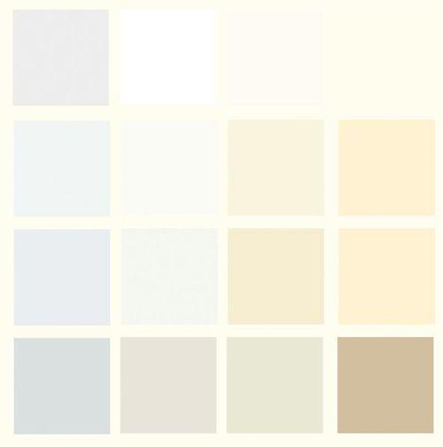 Разные оттенки белого цвета
