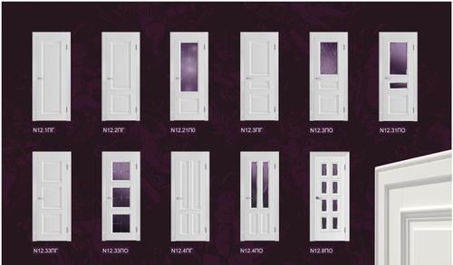 Варианты оформления дверей