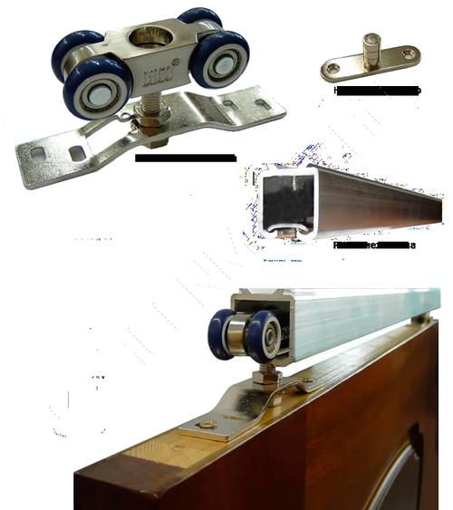 Обзор про межкомнатные двери на рельсах и роликах