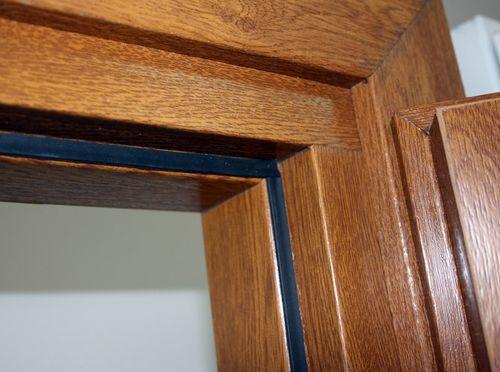 Виды и характеристики уплотнителей для межкомнатных дверей