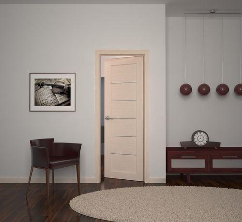 Дверь Sonata ДГ белёный дуб
