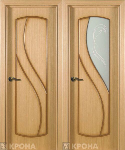 Двери Крона Классика светлые