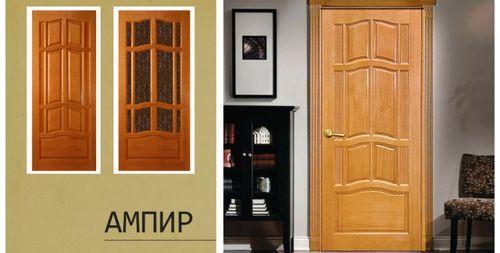 деревянные двери «Ампир»