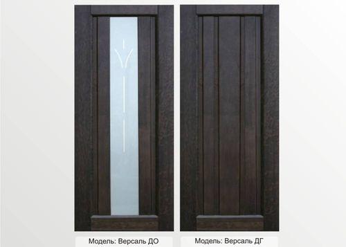 Элегантный дизайн двери