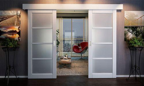 Подвесные межкомнатные двери