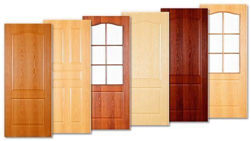 Какие бывают покрытия у межкомнатных дверей