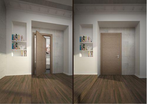 Виды и характеристики роторных межкомнатных дверей