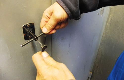 Извлечение ключа из замка